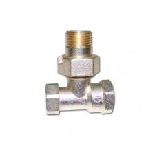 Клапан запорно-регулирующий угловой для радиаторов